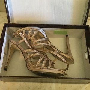 Camille LaVie Baby Pink Prom/Homecoming Shoes 8.5